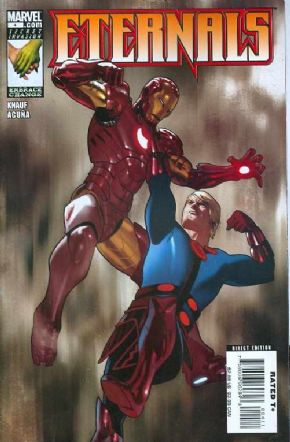 Eternals #4 (2008) Iron Man Marvel comic book